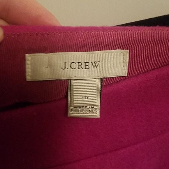 J. Crew Dresses & Skirts - Fuchsia J. Crew wool skirt
